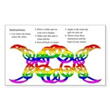 Rainbow Celtic Knot Moon Phases