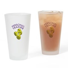 PERSONAL TRAINER Drinking Glass