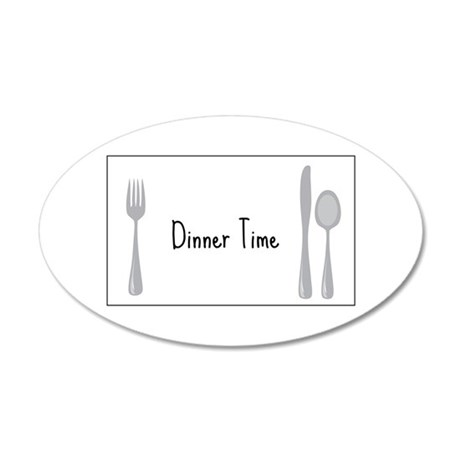 Dinner Time Wall Decal