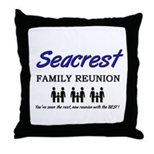 Seacrest Family Reunion Throw Pillow