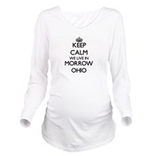 Keep calm we live in Long Sleeve Maternity T-Shirt