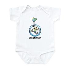 Christopher: Happy B-day to m Infant Bodysuit