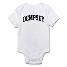 DEMPSEY (curve-black) Infant Bodysuit
