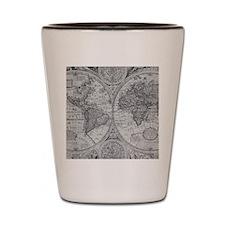 108872005 World Map Shot Glass