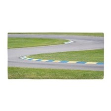 Kart Track Beach Towel