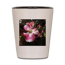 Dogwood Blossom Shot Glass