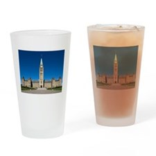 The Peace Tower Drinking Glass