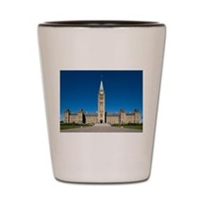 The Peace Tower Shot Glass