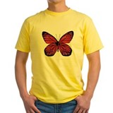 Red Butterfly Picture T
