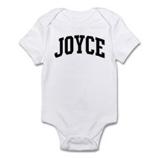 JOYCE (curve-black) Infant Bodysuit
