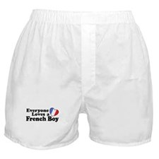 Everyone Loves a French Boy Boxer Shorts