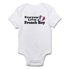 Everyone Loves a French Boy Infant Bodysuit