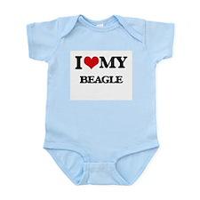 I love my Beagle Body Suit