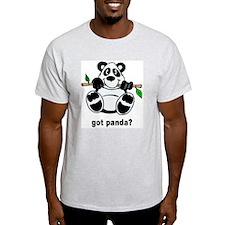 Got Panda? Ash Grey T-Shirt