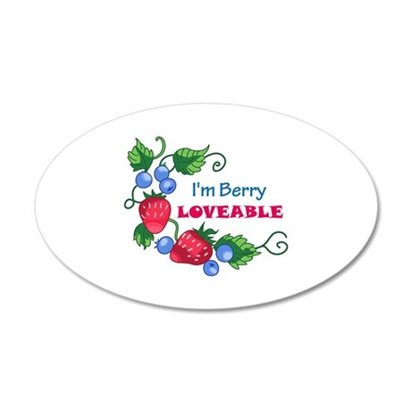 IM BERRY LOVABLE Wall Decal