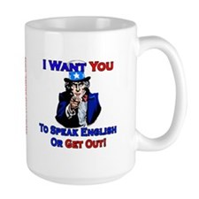 Speak English - Mug