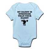 My daddy is strong Bodysuits