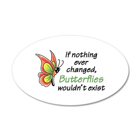 IF NOTHING CHANGED Wall Decal