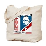British Churchill Bar Tote Bag