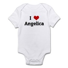 I Love Angelica Infant Bodysuit