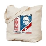 Worn British Churchill Bar Tote Bag