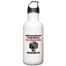 DSLR Camera boy Water Bottle