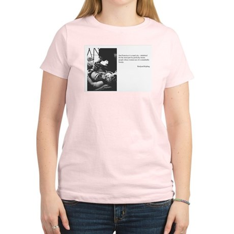 Intelligent & Seductive Women's Cafe T-Shirt