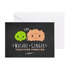 Wasabi and Ginger Greeting Card