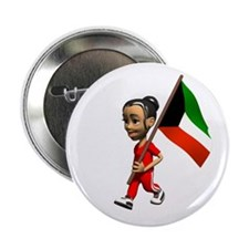 Kuwait Girl Button