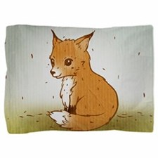Cute Little Fox Pillow Sham