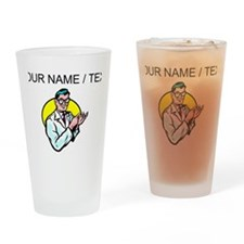 Scientist (Custom) Drinking Glass