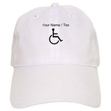 Custom Handicapped Baseball Baseball Cap