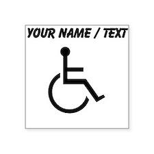 Custom Handicapped Sticker