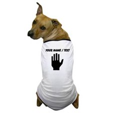 Custom Hand Dog T-Shirt