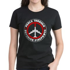 Peace Through Superior Firepower II Women's Dark T