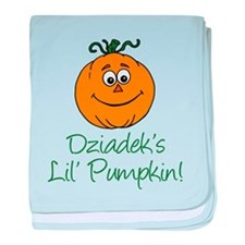 Dziadeks Little Pumpkin baby blanket