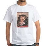 TASTY Chocolate Lab dog gift White T-Shirt
