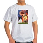 Mandolin Angel & Papillon Light T-Shirt