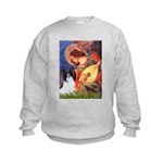 Mandolin Angel & Papillon Kids Sweatshirt
