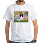 Garden & Papillon White T-Shirt