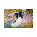Garden & Papillon Rectangle Magnet