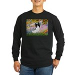 Garden & Papillon Long Sleeve Dark T-Shirt
