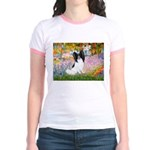 Garden & Papillon Jr. Ringer T-Shirt