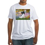 Garden & Papillon Fitted T-Shirt