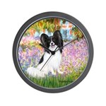 Garden & Papillon Wall Clock