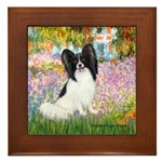 Garden & Papillon Framed Tile