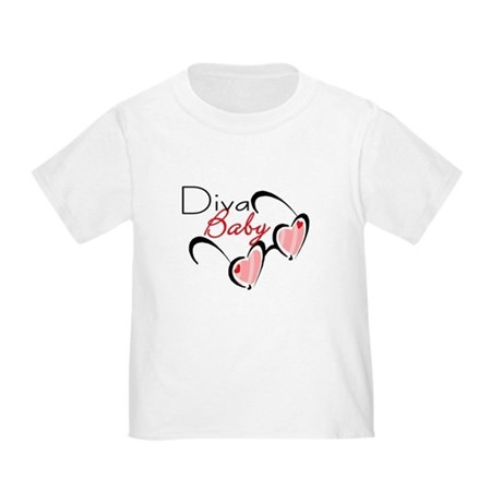 Baby Diva Sunglasses CUTE Baby/Toddler T-Shirt