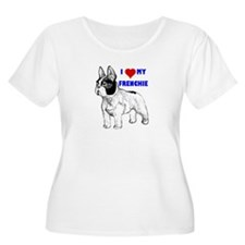 Funny French bulldog terrier T-Shirt