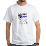 Funny French bulldog terrier Shirt