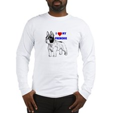 Funny French bulldog terrier Long Sleeve T-Shirt